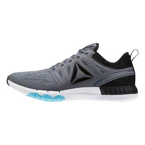 Womens Reebok ZPrint 3D Running Shoe - Grey/White 7.5