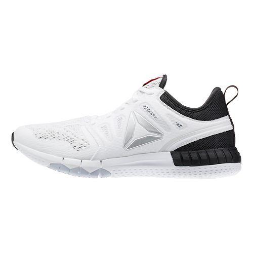 Womens Reebok ZPrint 3D Running Shoe - White/Grey 8