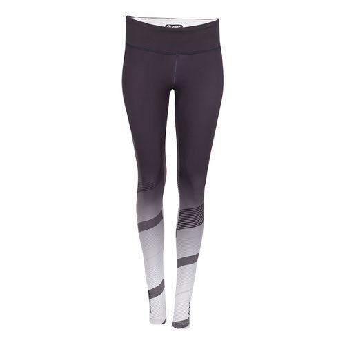 Womens Zoot Keep It Tights & Leggings Pants - Black/Pipeline XL