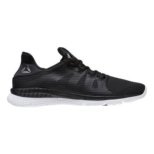 Womens Reebok ZPrint HER MTM Running Shoe - Black/White 10