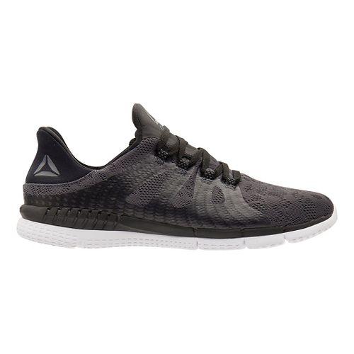 Womens Reebok ZPrint HER MTM Running Shoe - Grey/Black 8.5