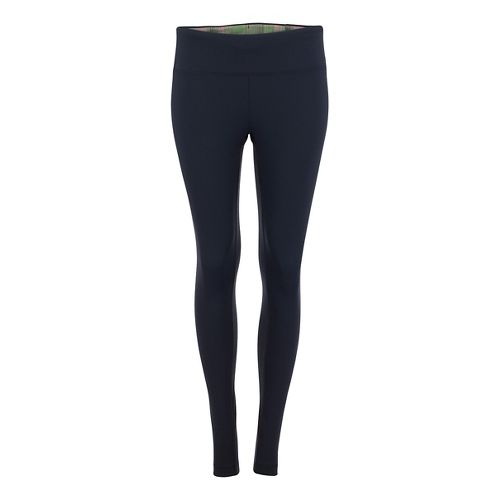 Womens Zoot Twin Fin Tights & Leggings Pants - Black/Good Vibes M