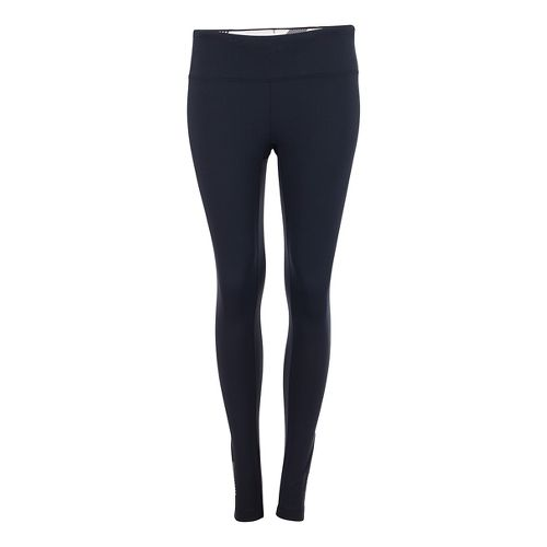 Womens Zoot Twin Fin Tights & Leggings Pants - Black/Pipeline L