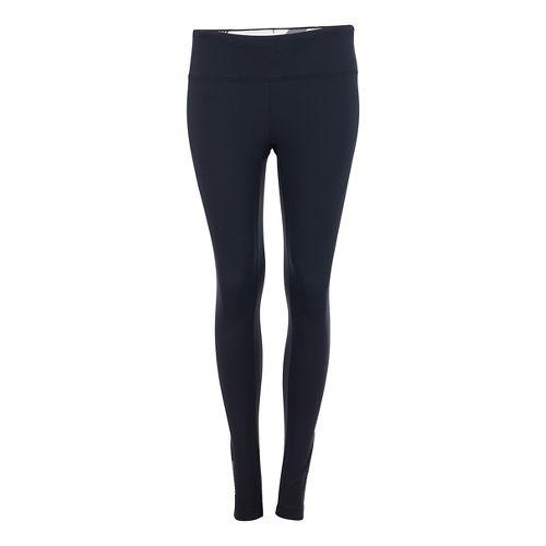 Womens Zoot Twin Fin Tights & Leggings Pants - Black/Pipeline XL