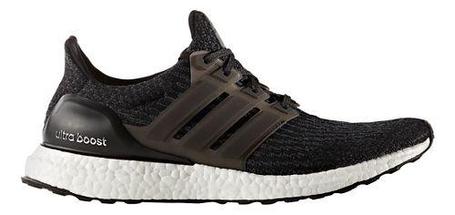 Mens adidas Ultra Boost Running Shoe - Black/Black 11.5