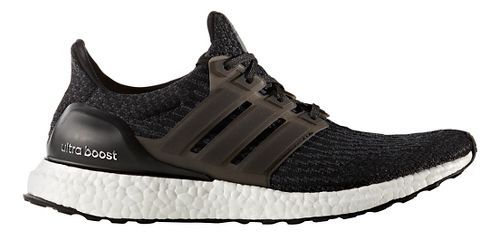Mens adidas Ultra Boost Running Shoe - Black/Black 14