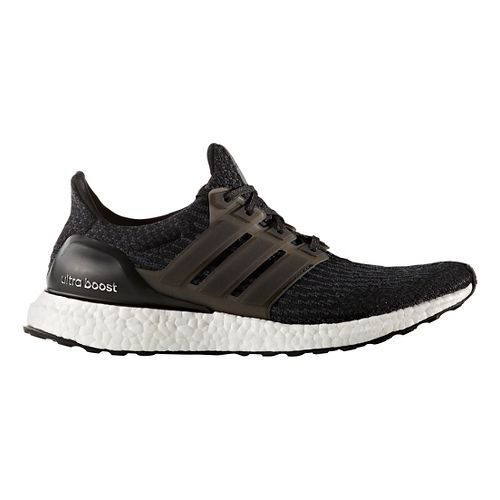 Mens adidas Ultra Boost Running Shoe - Black/Black 13