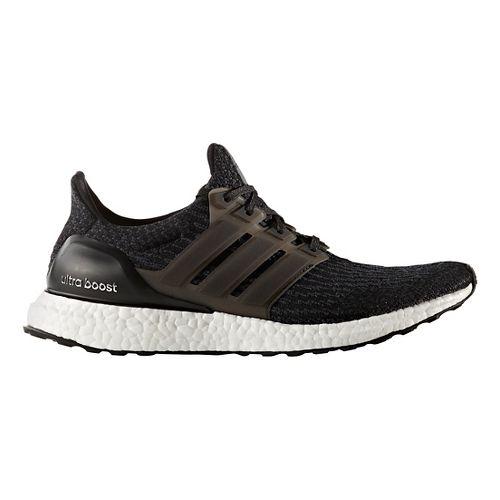 Mens adidas Ultra Boost Running Shoe - Black/Black 14