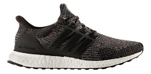 Mens adidas Ultra Boost Running Shoe - Black Wool 10.5