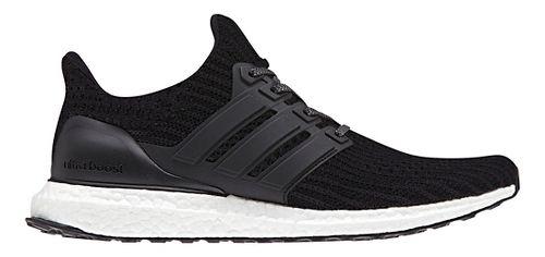 Mens adidas Ultra Boost Running Shoe - Black 11