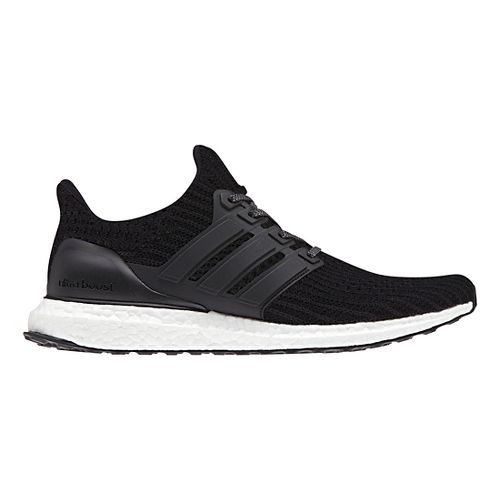 Mens adidas Ultra Boost Running Shoe - Black 8