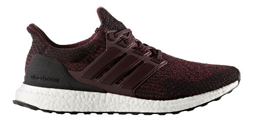 Mens adidas Ultra Boost Running Shoe - Dark Burgundy Wool 10