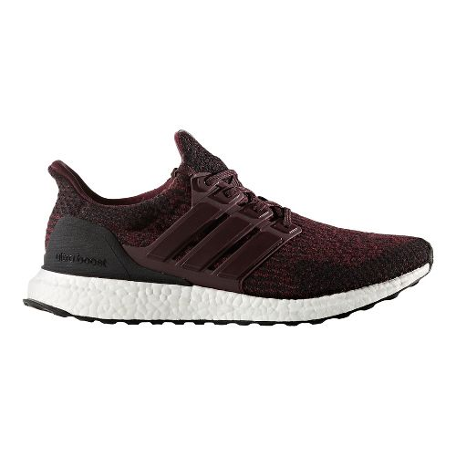 Mens adidas Ultra Boost Running Shoe - Dark Burgundy Wool 12