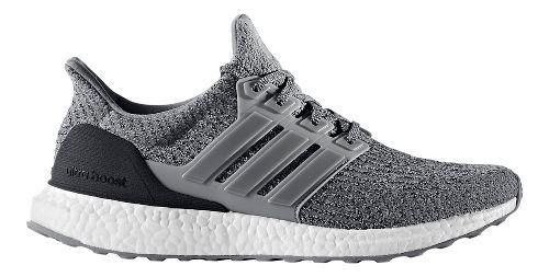 Mens adidas Ultra Boost Running Shoe - Grey Wool 8.5