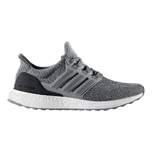 Mens adidas Ultra Boost Running Shoe - Grey Wool 9