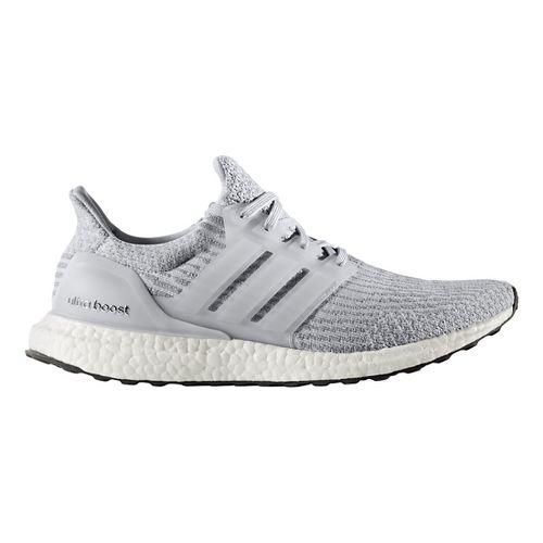 Mens adidas Ultra Boost Running Shoe - Grey/Grey 11.5