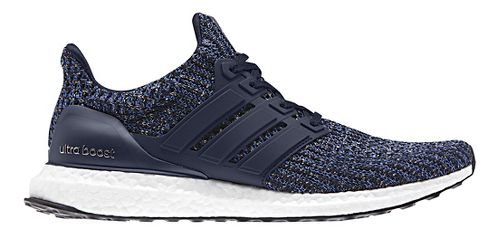 Mens adidas Ultra Boost Running Shoe - Ink/Carbon 10.5