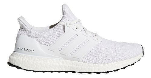 Mens adidas Ultra Boost Running Shoe - White 11.5