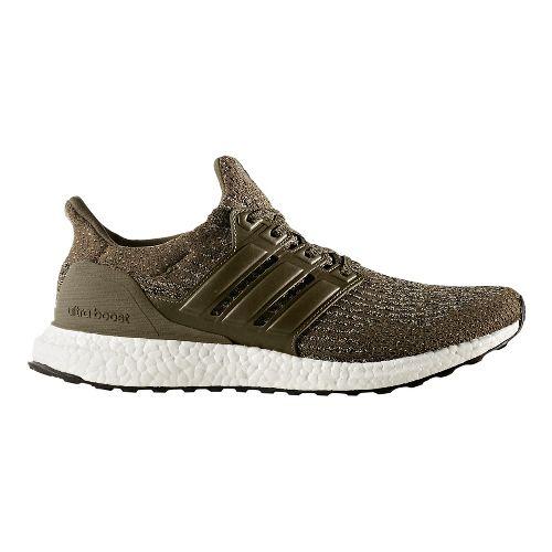 Mens adidas Ultra Boost Running Shoe - Olive/Khaki 10