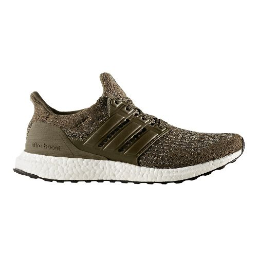 Mens adidas Ultra Boost Running Shoe - Olive/Khaki 9
