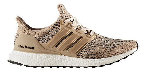 Mens adidas Ultra Boost Running Shoe - Khaki/Brown 10.5
