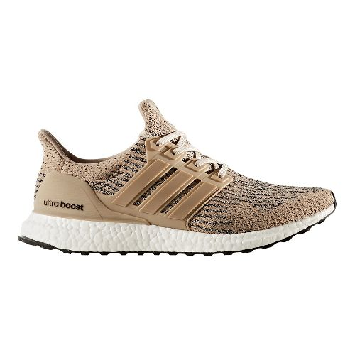 Mens adidas Ultra Boost Running Shoe - Khaki/Brown 9