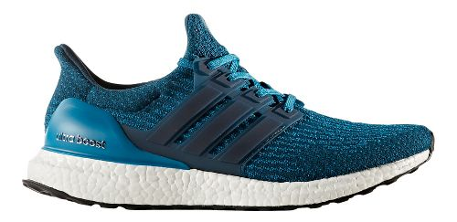 Mens adidas Ultra Boost Running Shoe - Petrol Night 10.5