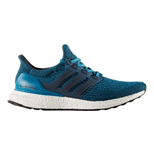 Mens adidas Ultra Boost Running Shoe - Petrol Night 8.5