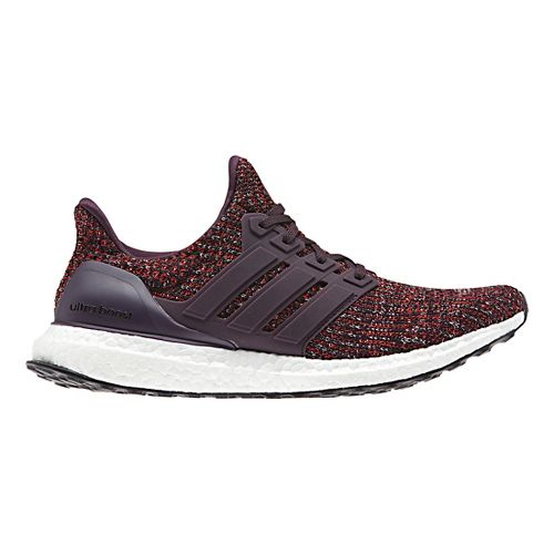 Mens adidas Ultra Boost Running Shoe - Red/Black 9