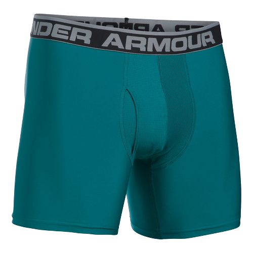 Mens Under Armour The Original 6'' BoxerJock Boxer Brief Underwear Bottoms - Turquoise Sky L ...