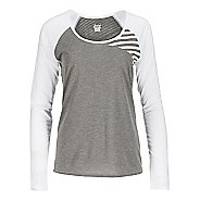 Womens Zoot Sunset Ink Long Sleeve Technical Tops