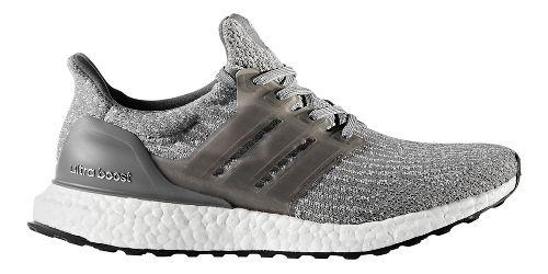 Womens adidas Ultra Boost Running Shoe - Grey/Grey 11