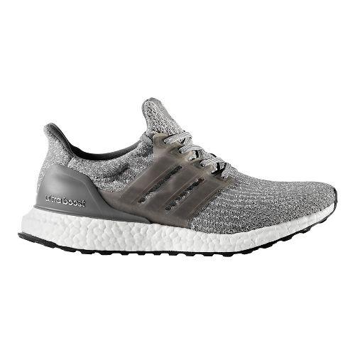 Womens adidas Ultra Boost Running Shoe - Grey/Grey 10