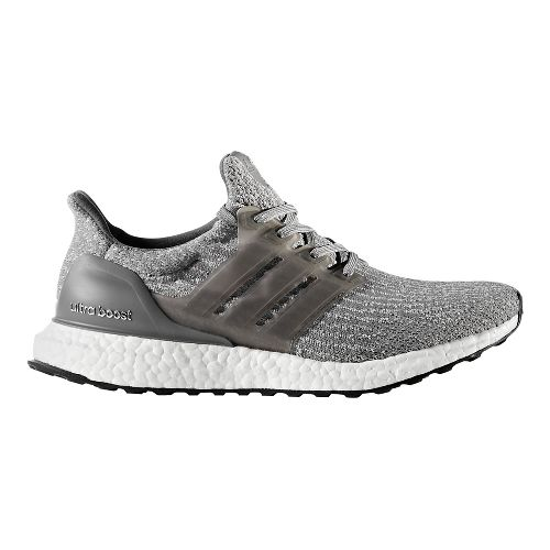 Womens adidas Ultra Boost Running Shoe - Grey/Grey 10.5