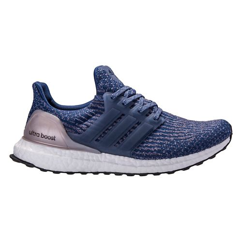 Womens adidas Ultra Boost Running Shoe - Mystery Blue 10