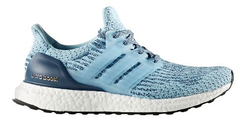 Womens adidas Ultra Boost Running Shoe - Icey Blue 11