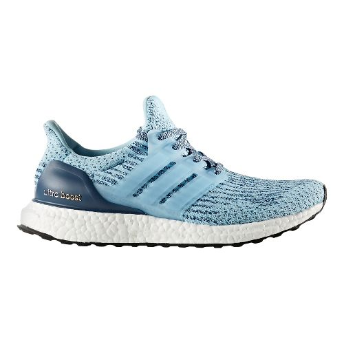 Womens adidas Ultra Boost Running Shoe - Icey Blue 10.5