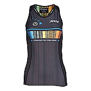 Womens Zoot Tri Ali'i Racerback Sleeveless & Tank Tops Technical Tops