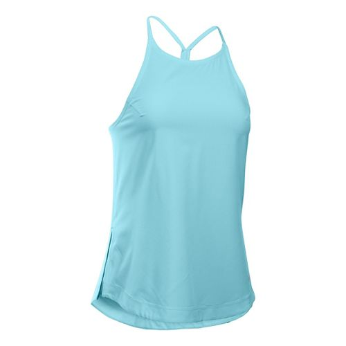 Womens Under Armour Accelerate Sleeveless & Tank Technical Tops - Maui XS