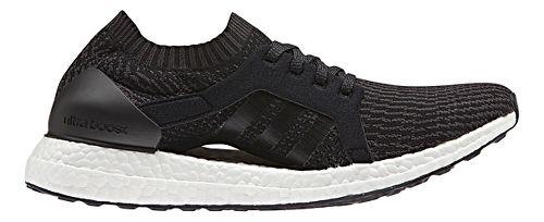 Womens adidas Ultra Boost X Running Shoe - Black/Black 7.5