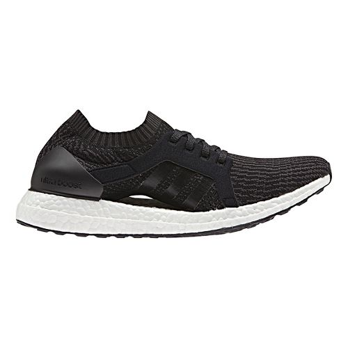 Womens adidas Ultra Boost X Running Shoe - Black/Black 8.5