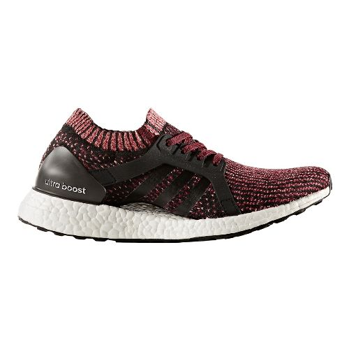 Womens adidas Ultra Boost X Running Shoe - Ruby/Black 7.5