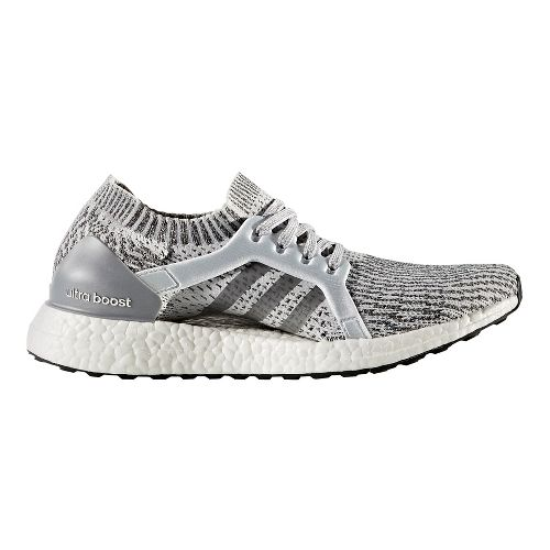 Womens adidas Ultra Boost X Running Shoe - Grey/Grey 7.5