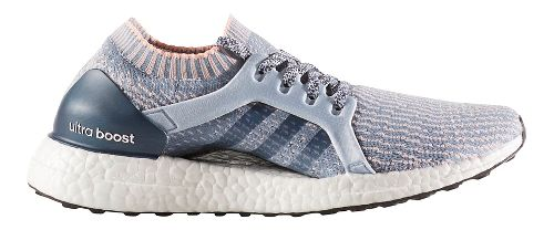 Womens adidas Ultra Boost X Running Shoe - Grey/Orange 7