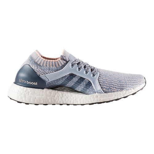 Womens adidas Ultra Boost X Running Shoe - Grey/Orange 6.5