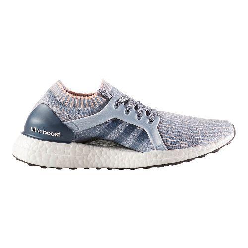 Womens adidas Ultra Boost X Running Shoe - Grey/Orange 8.5