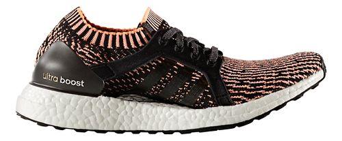Womens adidas Ultra Boost X Running Shoe - Orange/Black 7.5