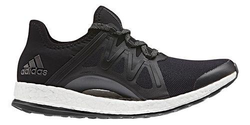 Womens adidas PureBoost Xpose Running Shoe - Black/Black 10