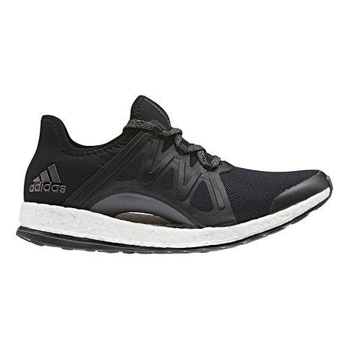 Womens adidas PureBoost Xpose Running Shoe - Black/Black 11