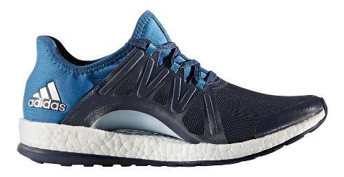 Womens adidas PureBoost Xpose Running Shoe - Midnight Grey/Blue 9